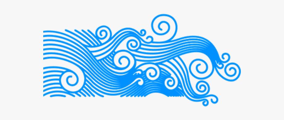 Wave . Ocean clipart transparent background