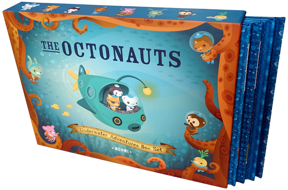 Clipart ocean underwater. The octonauts adventures box