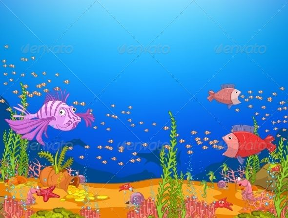 Clipart ocean underwater. World fonts logos icons