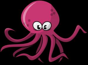 Clipart octopus. Clip art black and