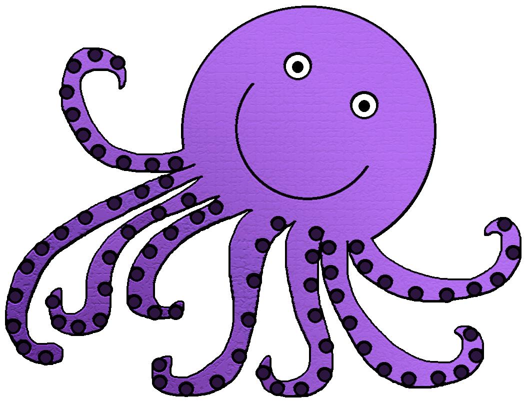 Clipart fish octopus.