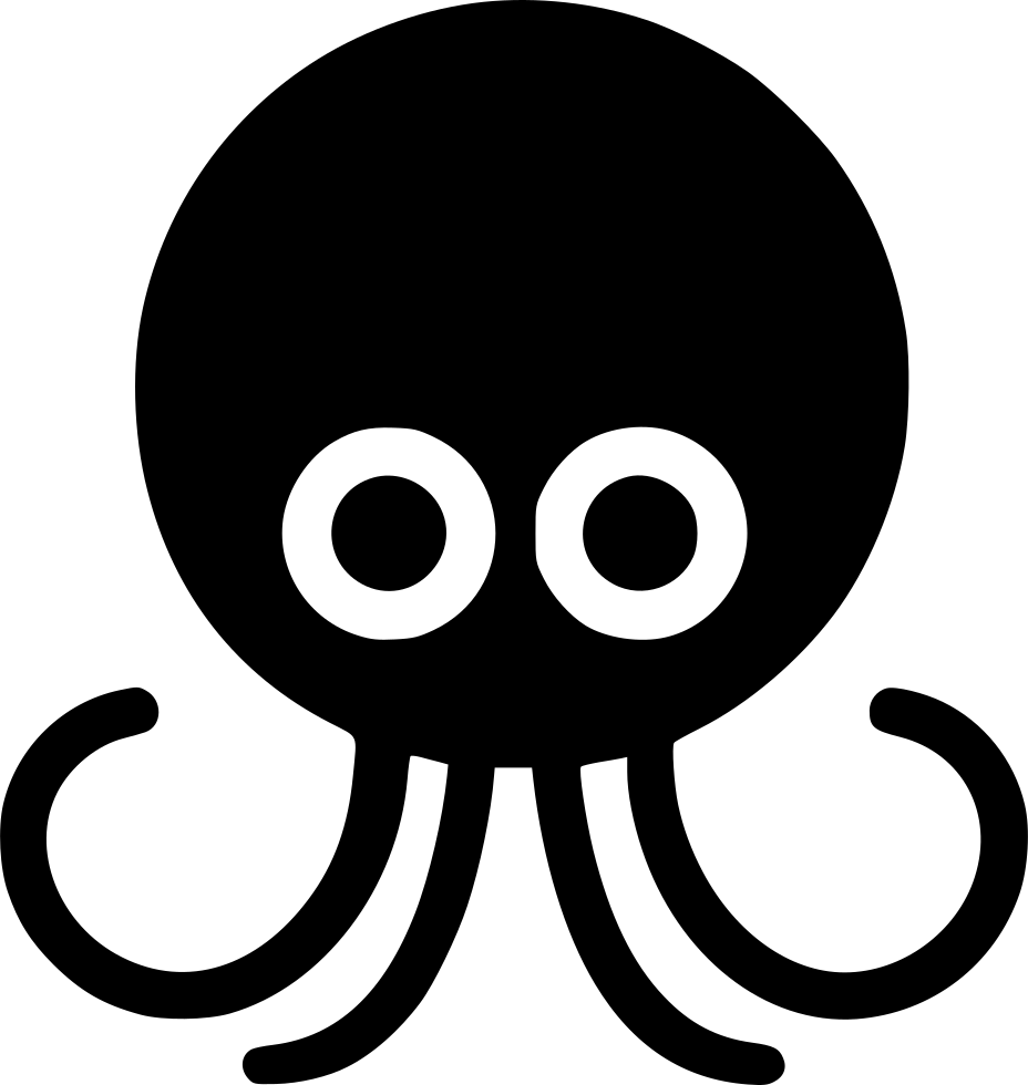 Pirates clipart octopus. Svg png icon free