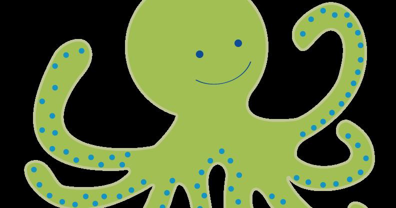 Marianna s lazy daisy. Clipart octopus aqua