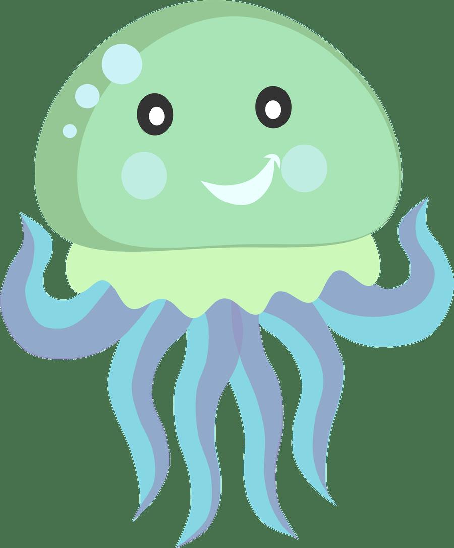 Figuras marinas para imprimir. Nautical clipart octopus