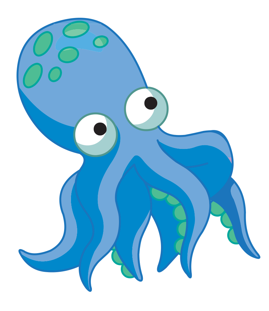 Clipart octopus aqua. Policies aquastyle feesholding fee