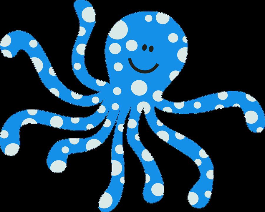 ocean safari c. Clipart octopus beach theme
