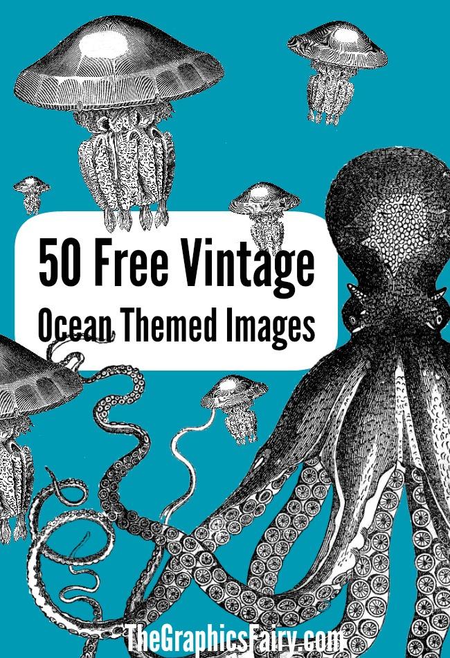 free ocean themed. Clipart octopus beach theme