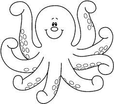 Clipart octopus black and white. Free download clip art