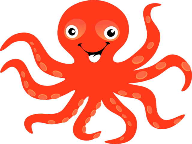 Cliparts free download clip. Clipart octopus clipart red