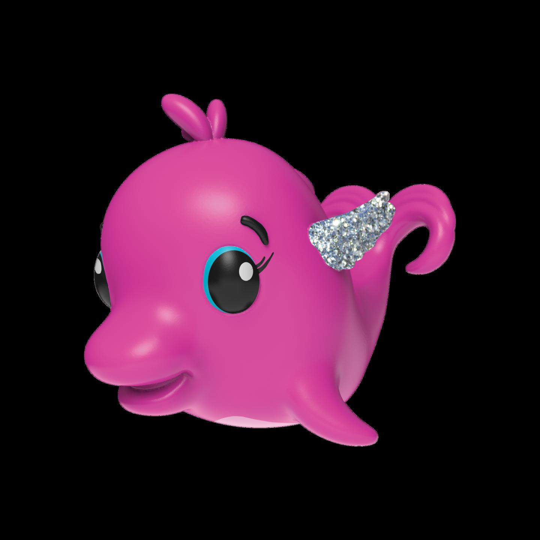 Clipart octopus fake. Hatchimals collection dolfinch pink