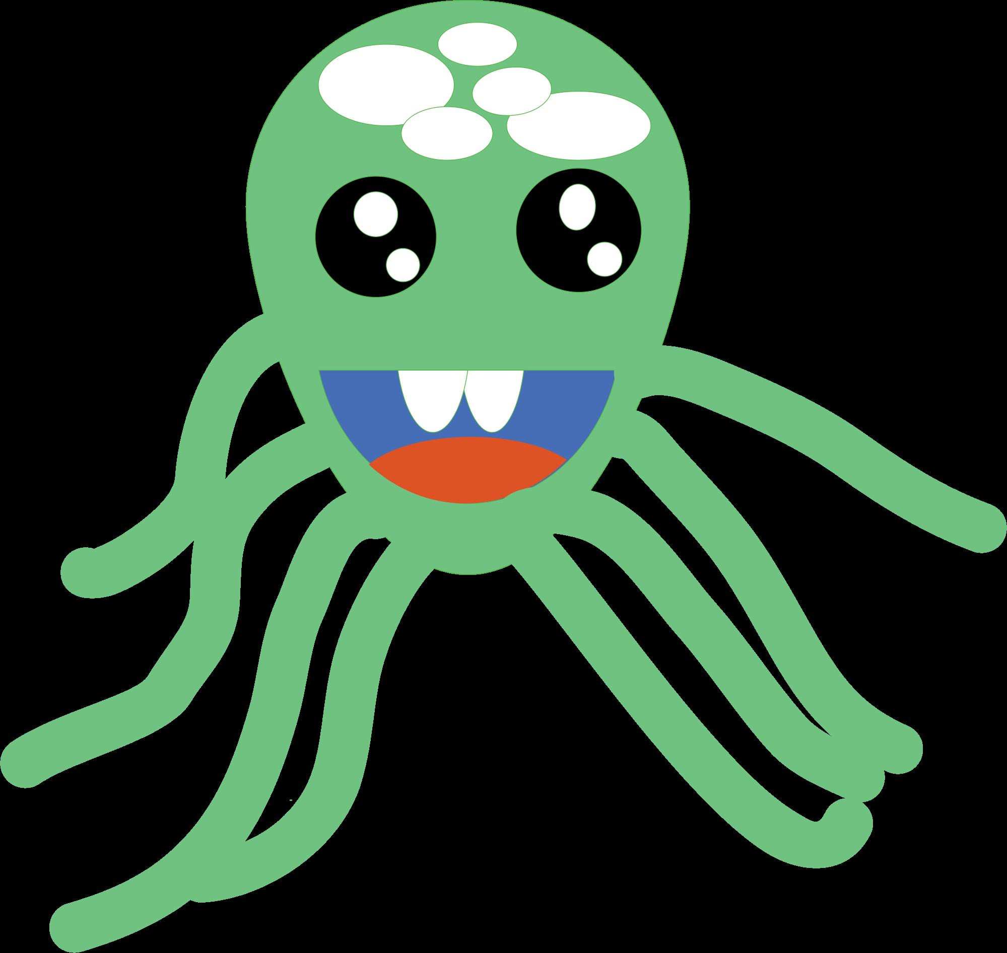 . Clipart octopus head