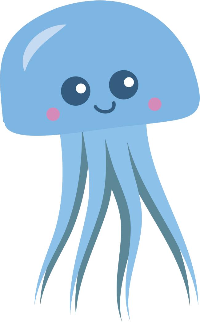 Clip art watersports cheruvennur. Clipart octopus jellyfish