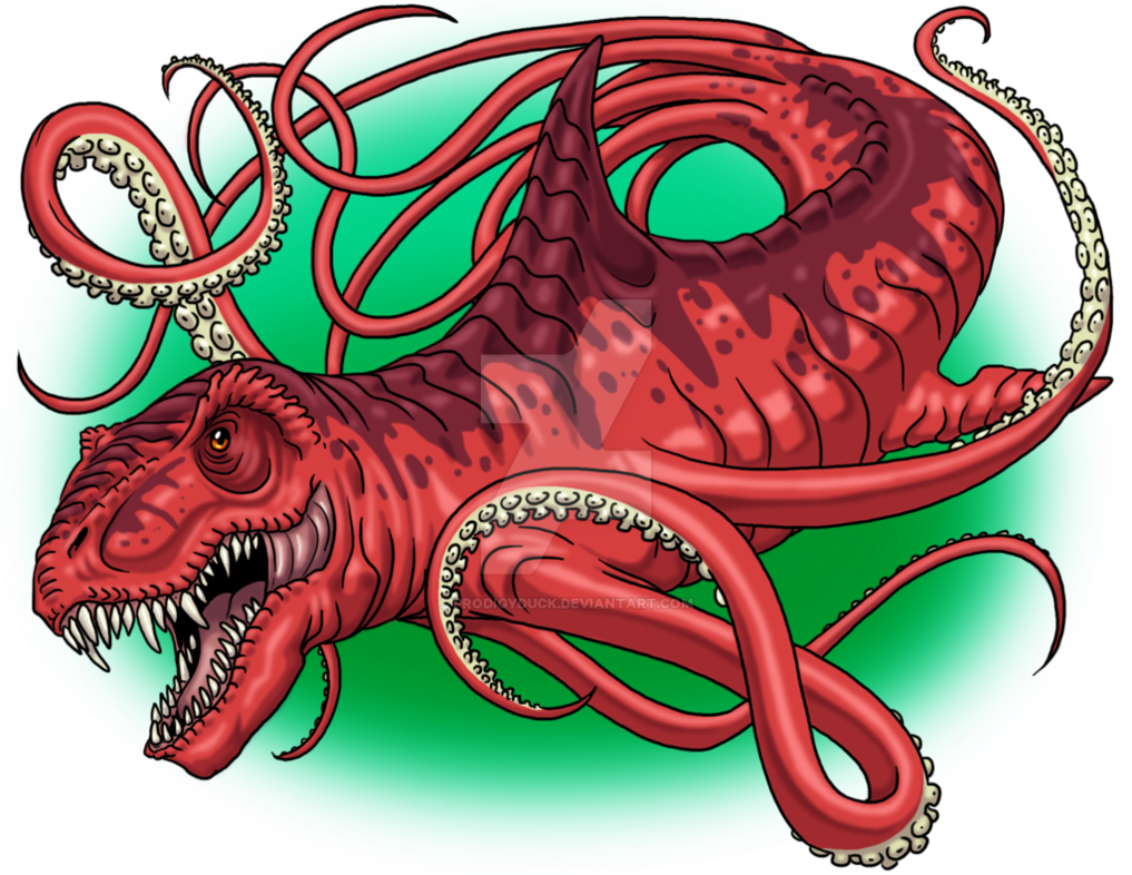 Clipart octopus kraken. Beast by prodigyduck on
