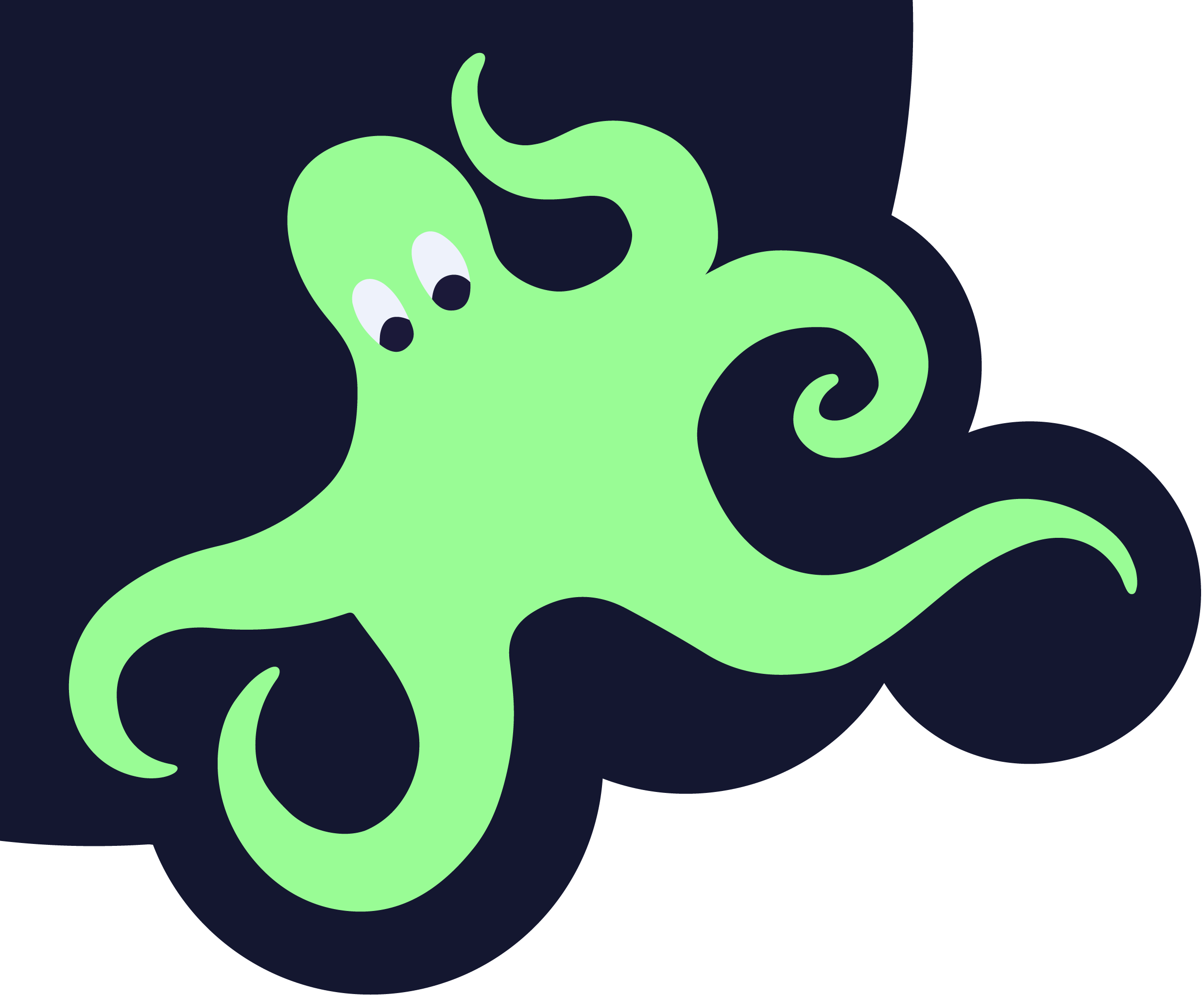 Samc animator . Clipart octopus mad