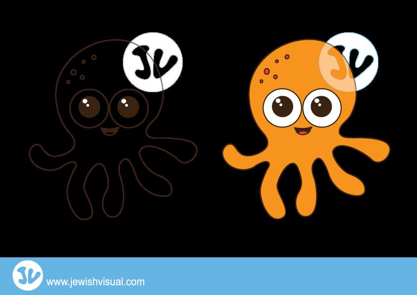 Clipart octopus marine animal. Jvisual octopusclipart