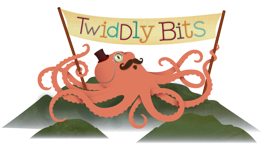 Octopus clipart maroon. Logo png twiddly bits