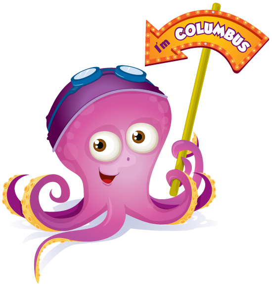 Octopus clipart maroon. Colinslab digital and hand