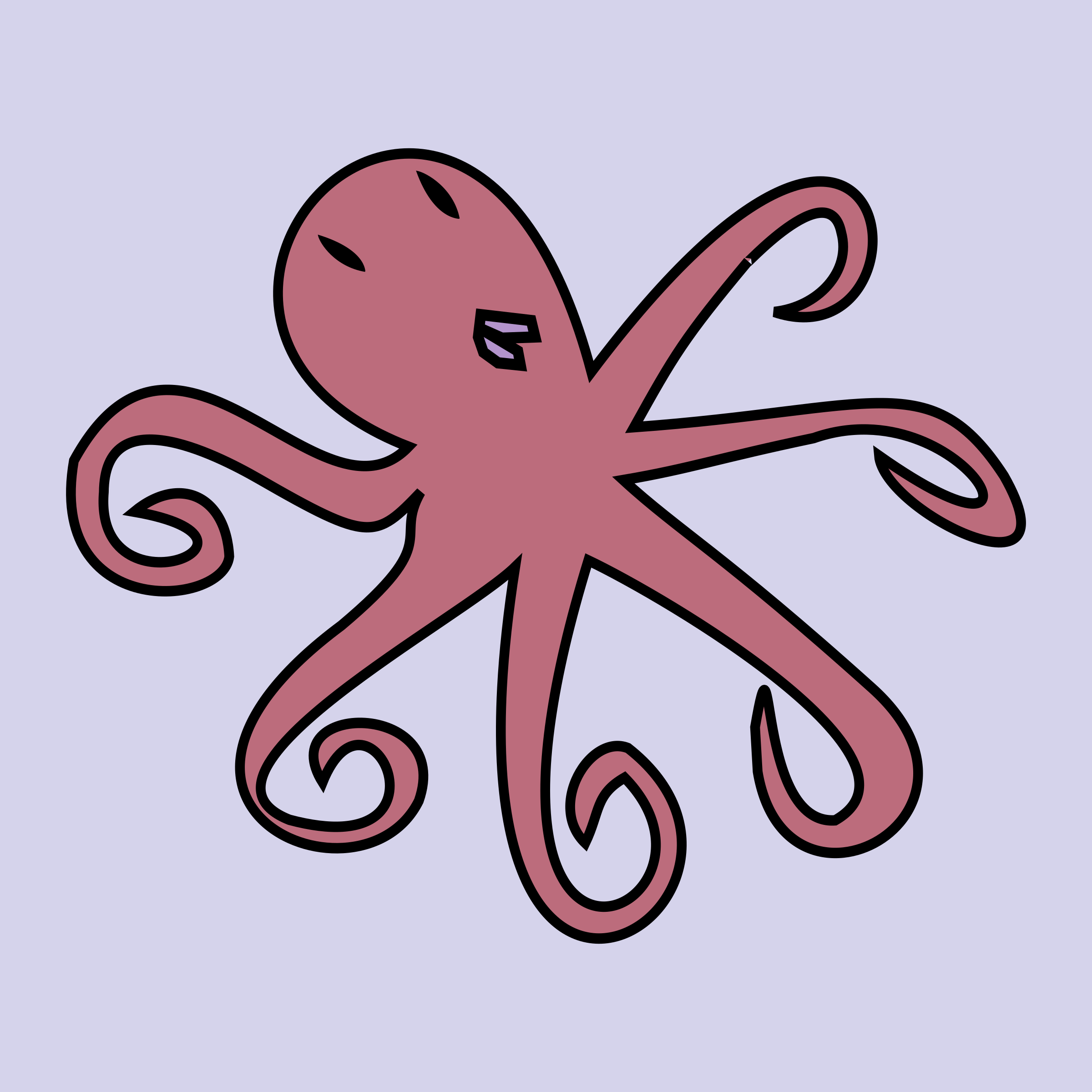Clipart reading octopus.