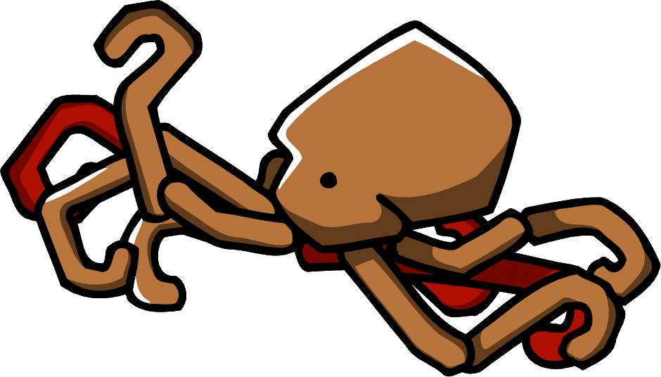 Octopus scribblenauts wiki fandom. Squid clipart mollusk