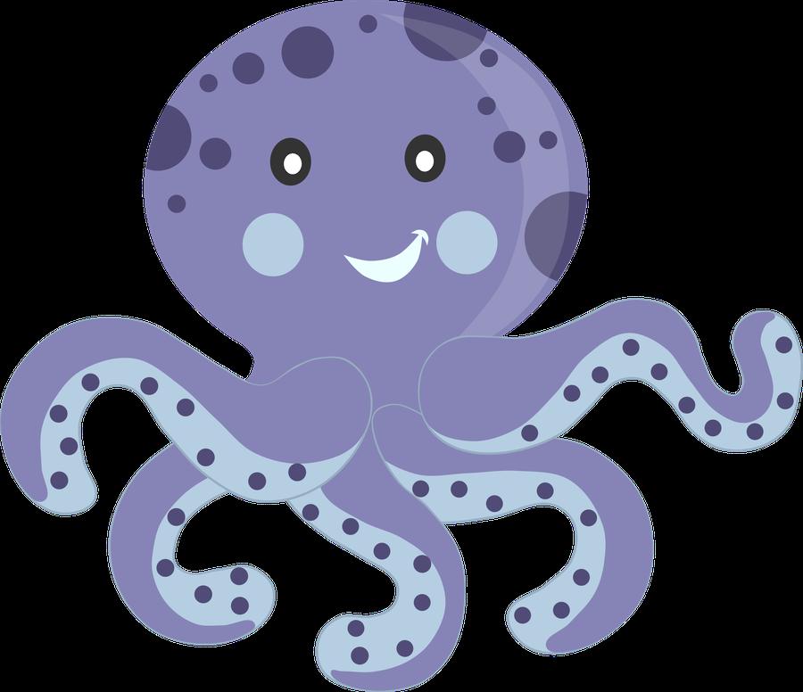 Selma de avila bueno. Clipart octopus starfish