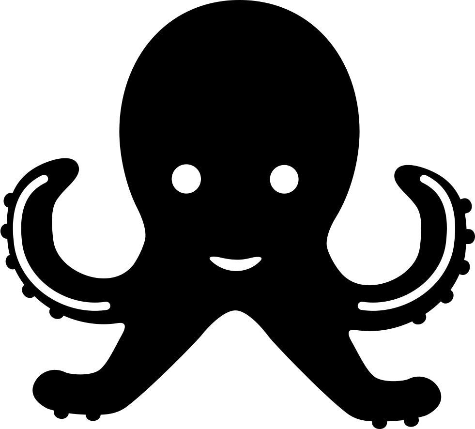 Png icon free download. Clipart octopus svg