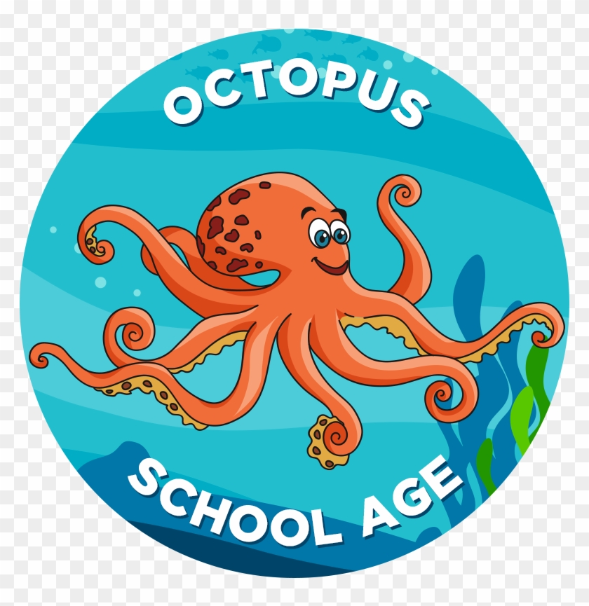 Clipart octopus swimming. Student hd png