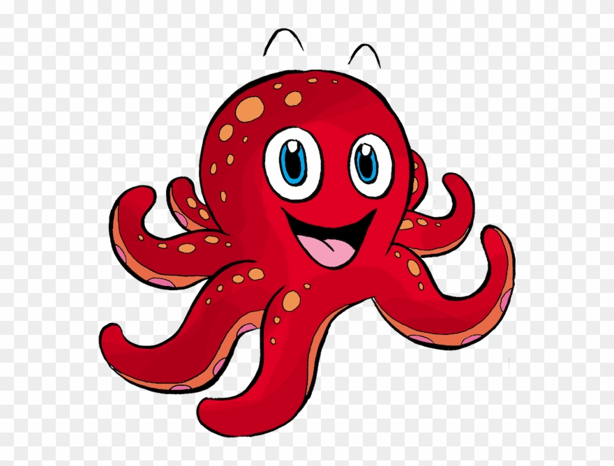 Adult lessons png download. Clipart octopus swimming