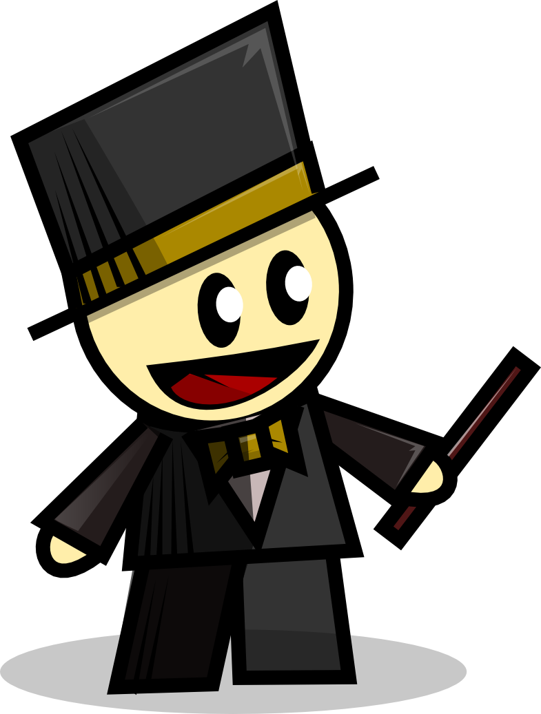 Magician at getdrawings com. Detective clipart group