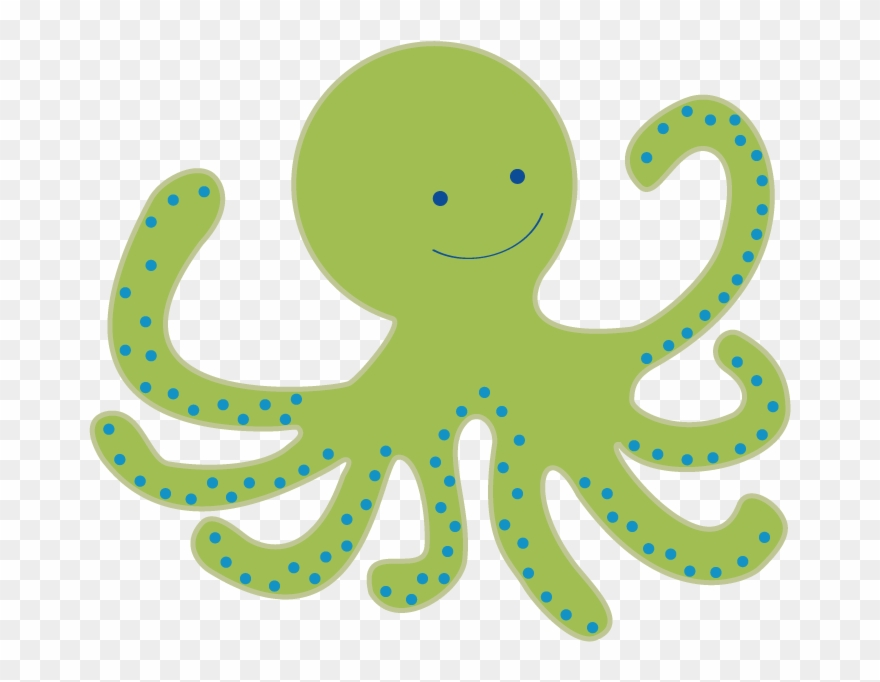 Clipart octopus transparent background. Baby clip art free
