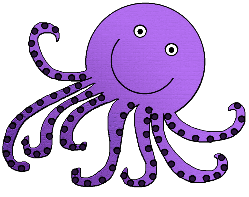 collection of png. Fish clipart octopus