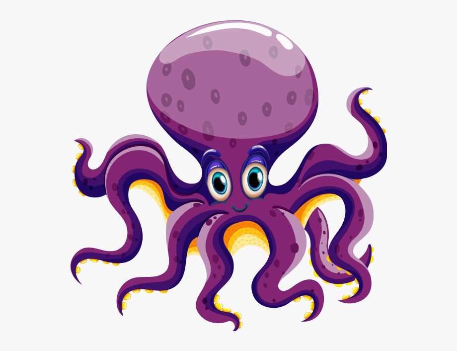 Clipart octopus water clipart. Alike animals clip art