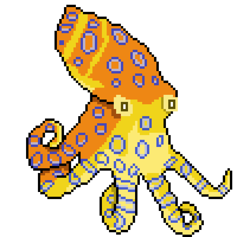 Clipart octopus yellow. Meet our cephalopod masters