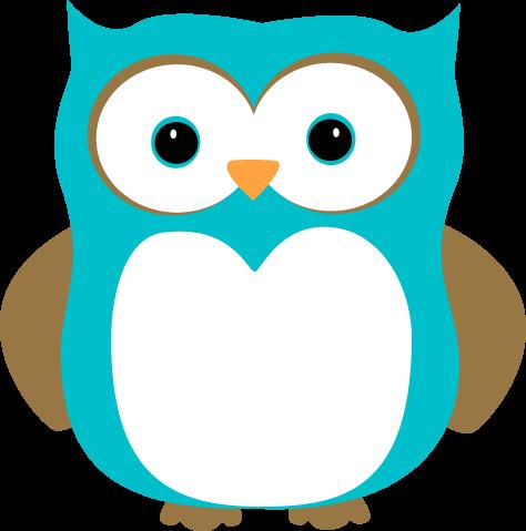 Clip art images blue. Clipart owl