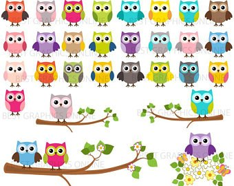 Clip art etsy off. Clipart owl
