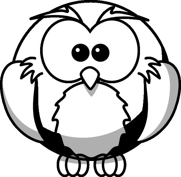 Owls clipart easy. Flying snowy owl panda