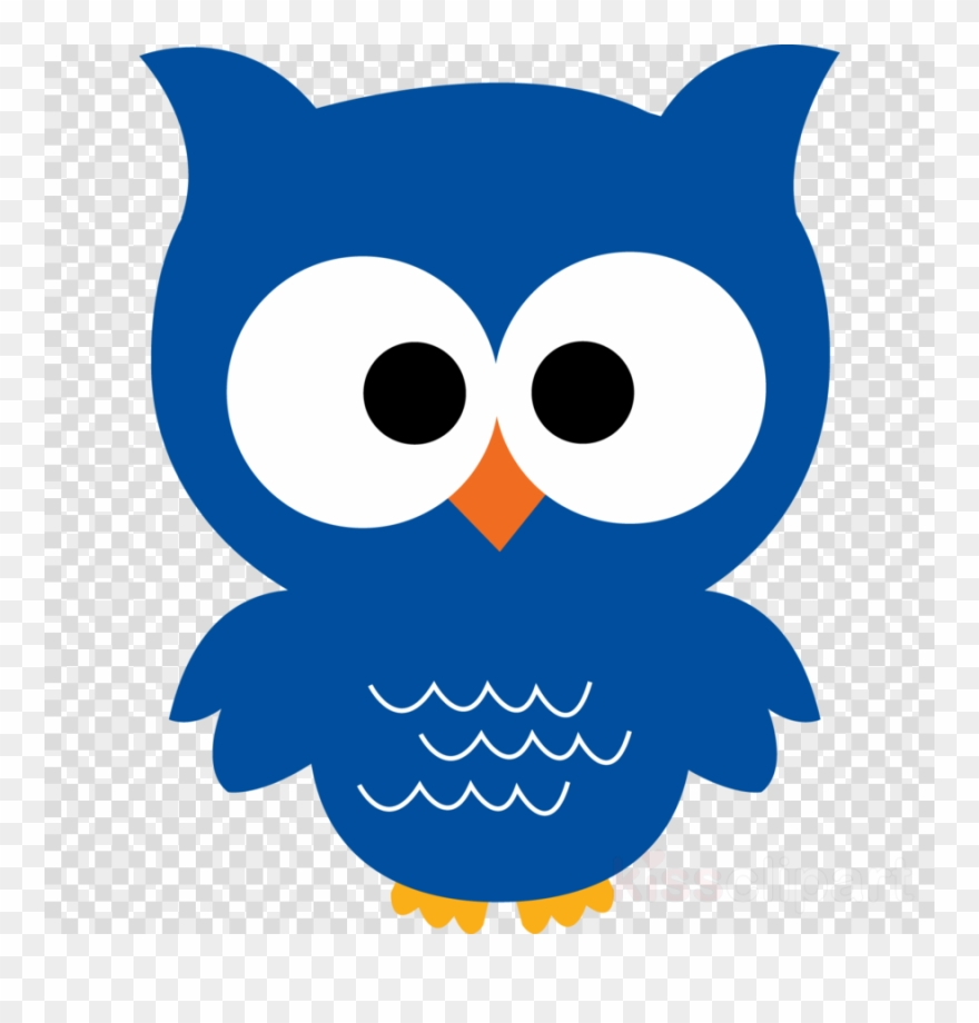Baby cartoon clip art. Clipart owl blue