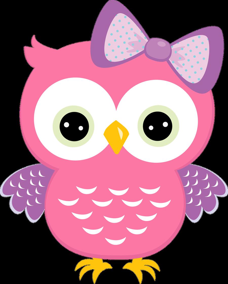 Girly clipart owl.  la casita de