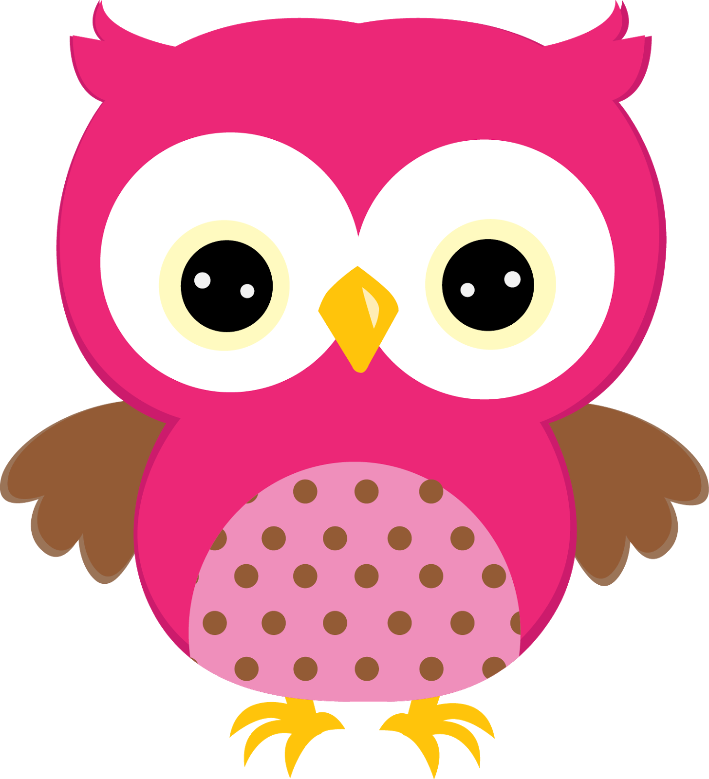 Sweet owls in colors. Hippie clipart owl
