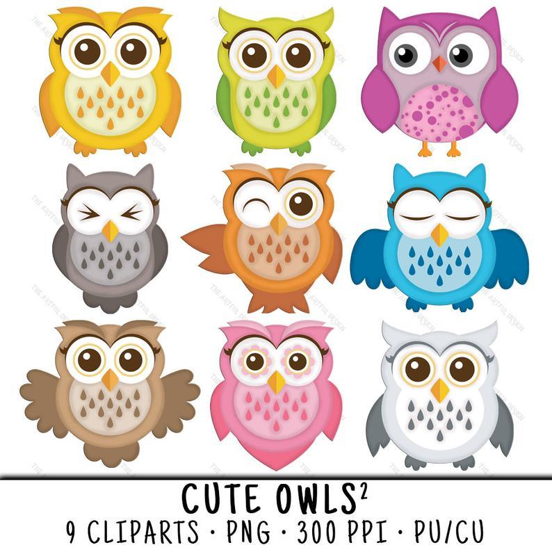 Clipart owl cute. Clip art png