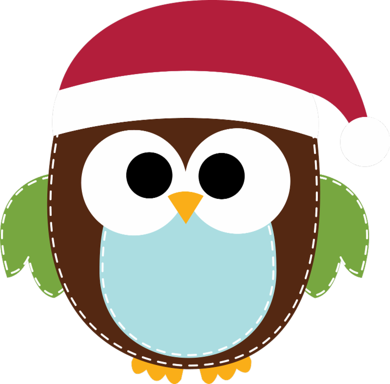 collection of high. December clipart owl