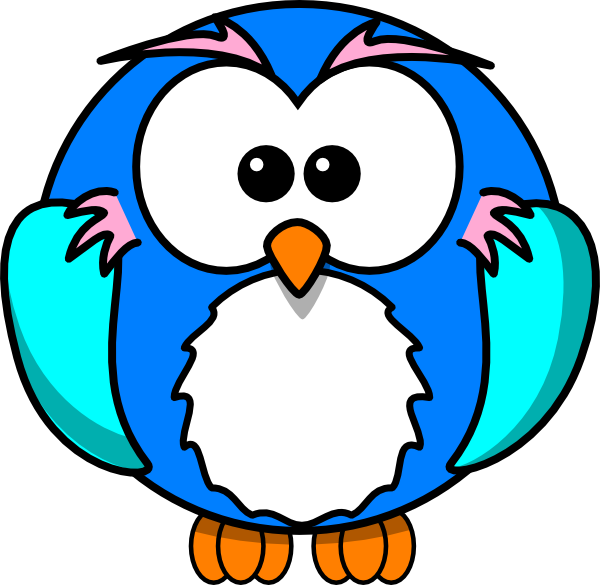 Free how to draw. Scientist clipart owl