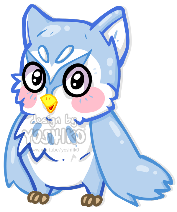 Cartoon by yoshik animation. Clipart owl february