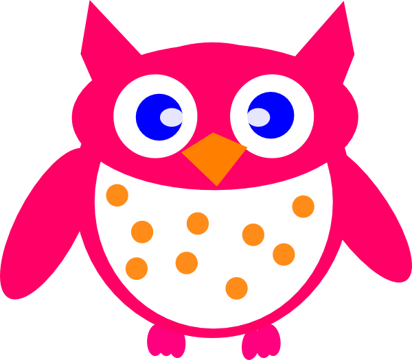 Foot clipart owl. Pink clip art at