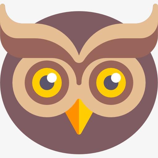 Owl portal . Owls clipart head