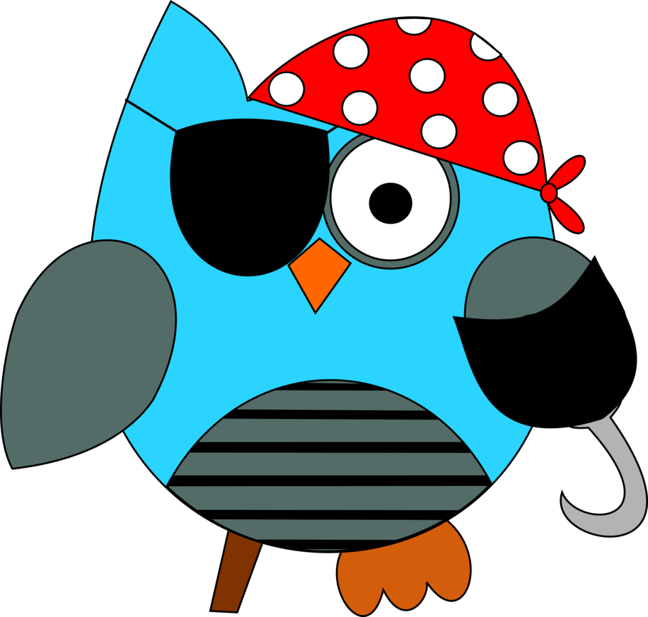 Owls clipart january. Pirate owl by shananigan