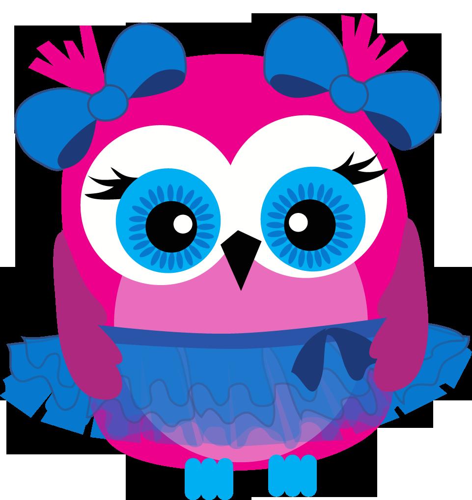 Pink owl clip art. Owls clipart row
