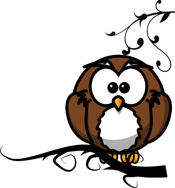 Owls clipart branch clip art. Owl on at clker