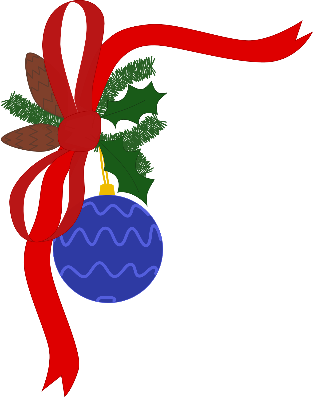 Holidays clipart sign. Free christmas decorations download