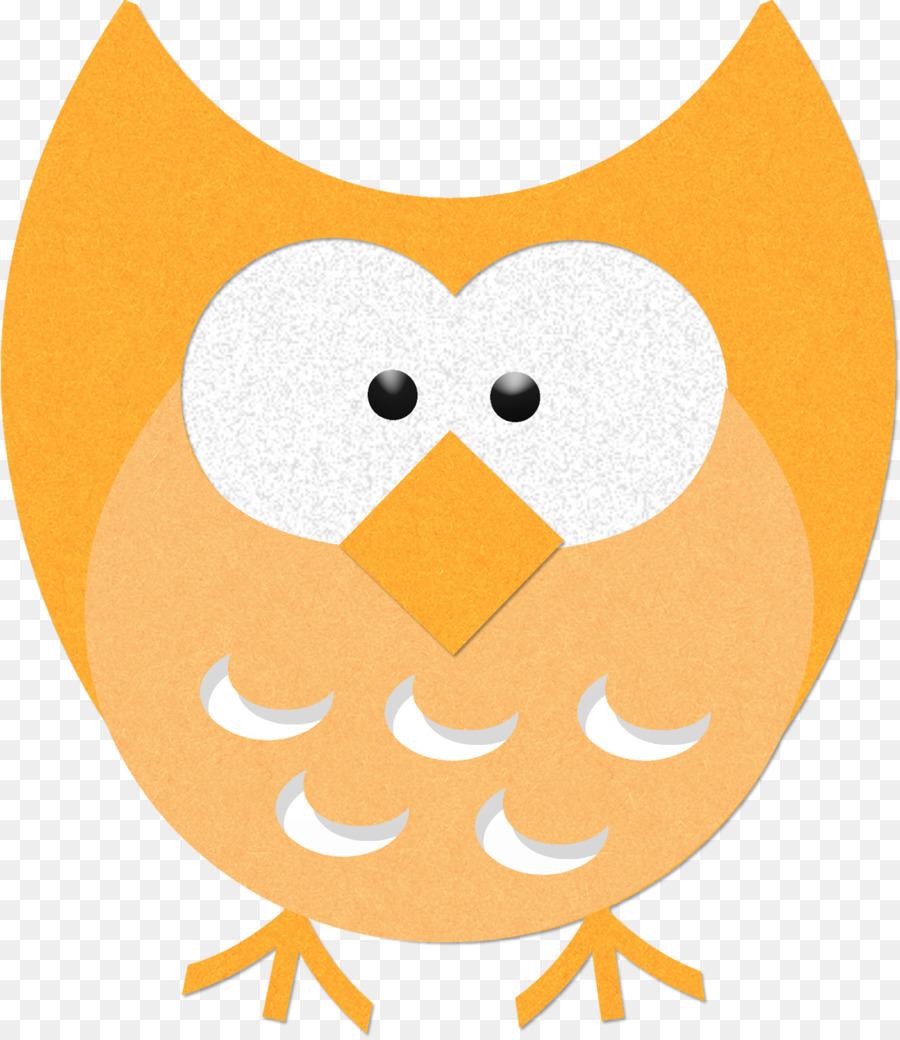 Owl clipart orange. Cartoon yellow bird transparent