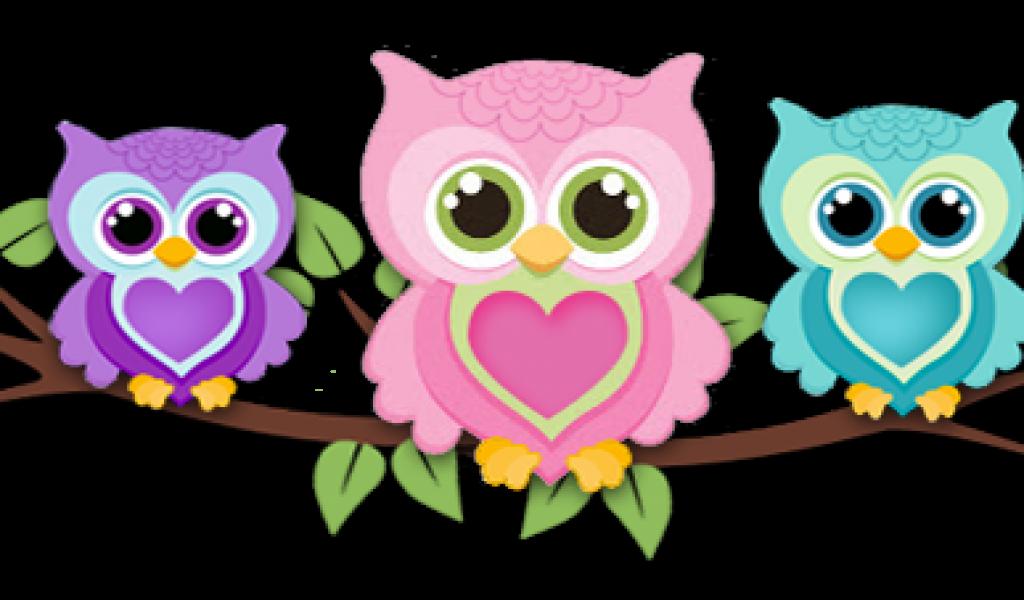 Owls clipart wallpaper. Cartoon owl gallery pin